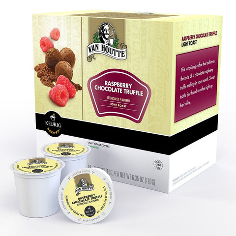 Van Houtte Coffee Keurig K-Cups, Raspberry Chocolate Truffle