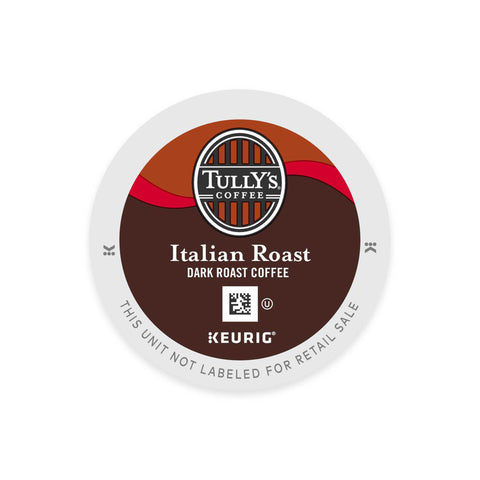 Tully's Coffee Keurig K-Cups, Italian Roast