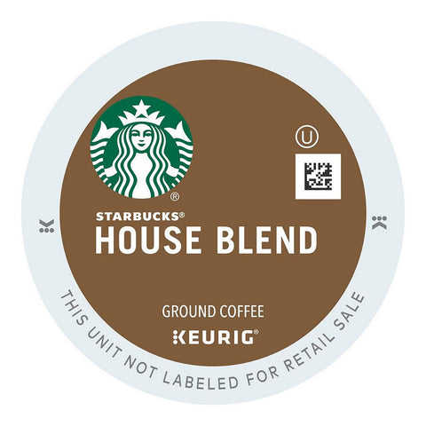 Starbucks Coffee Keurig K-Cups, House Blend