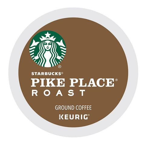 Starbucks Coffee Keurig K-Cups, Pike Place Roast