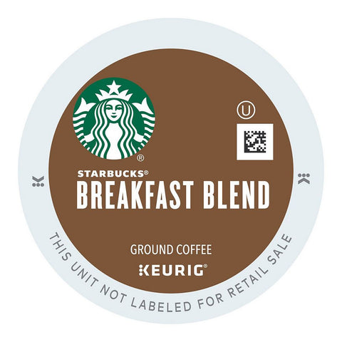 Starbucks Coffee Keurig K-Cups, Breakfast Blend