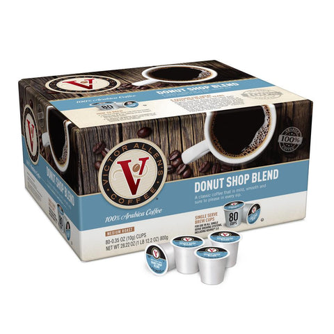 Victor Allen's Coffee Keurig K-Cups, Donut Shop Blend