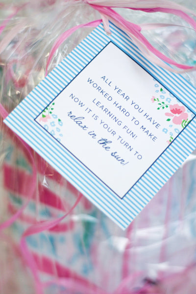 TEACHER GIFT IDEAS + *FREE* GIFT TAGS