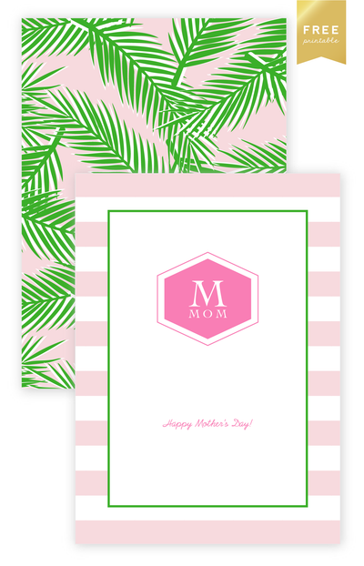 mother's day : free printable