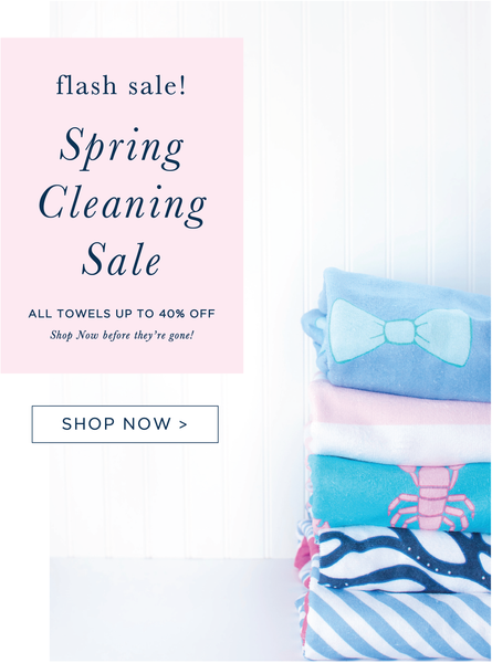 SPRING CLEANING FLASH SALE!