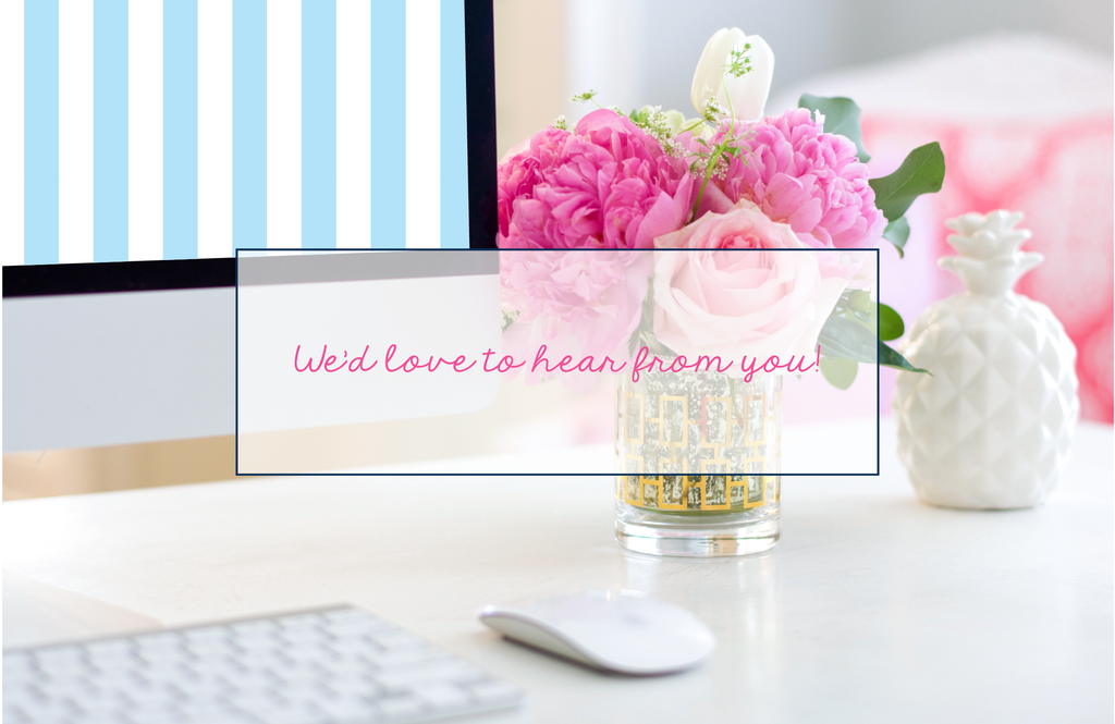 we'd love to hear from you desktop the little palm