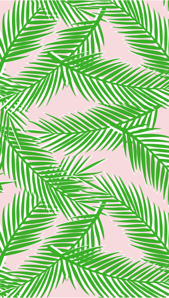 palm paradise iPhone wallpaper free download
