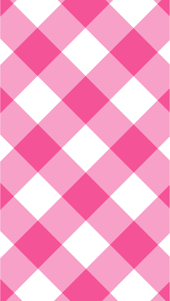pink gingham iPhone wallpaper