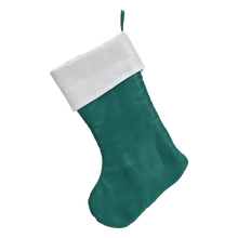 SOLD OUT Traditional Personalized Faux Satin Christmas Stocking
