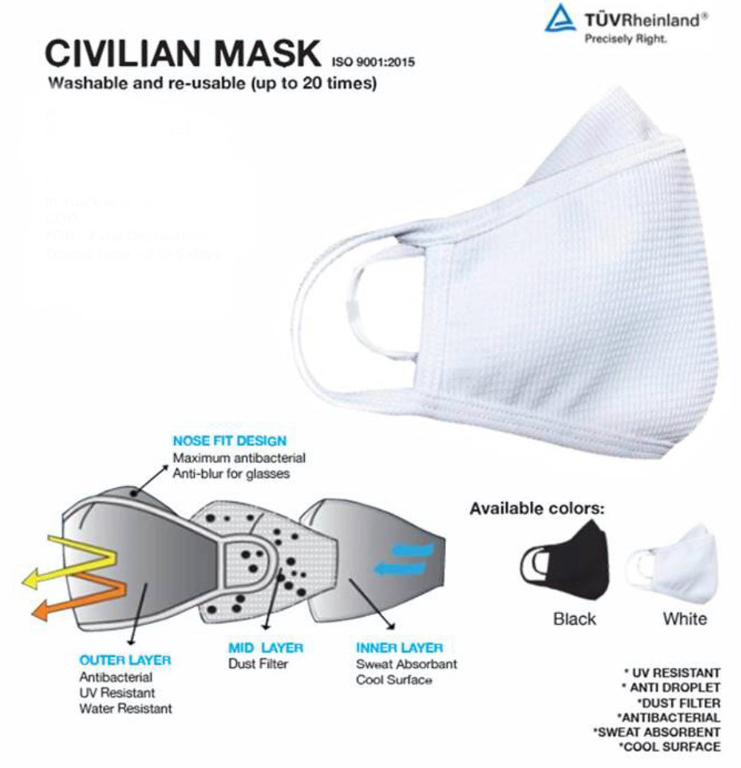 Civilian Mask- ADULT