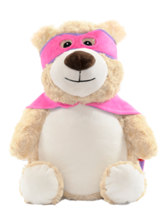 Hero Pink Bear Cubby