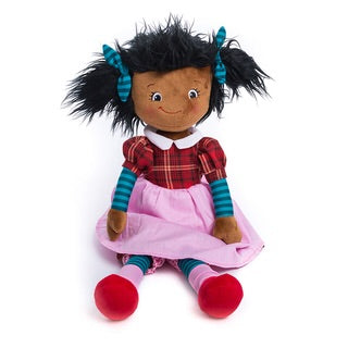 Rag Doll Personalized -Black Hair
