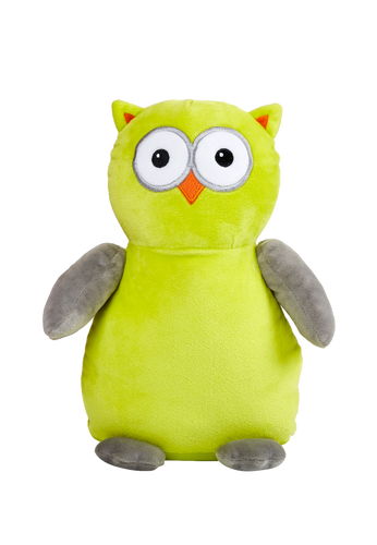 Owl Cubby (Lime/Grey)