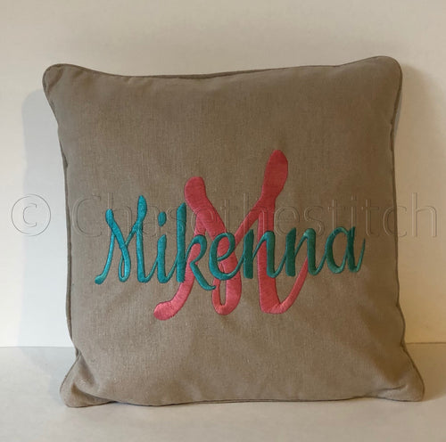 Pillow with Name