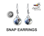 Load image into Gallery viewer, Snap Earrings