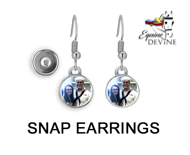 Snap Earrings