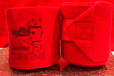 Fleece Polo Wraps - Set of Two with Laser Engraved Logo
