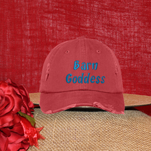 Barn Goddess Distressed Ball Cap