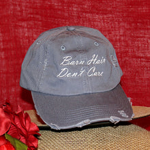 Barn Hair Don't Care Distressed Cap