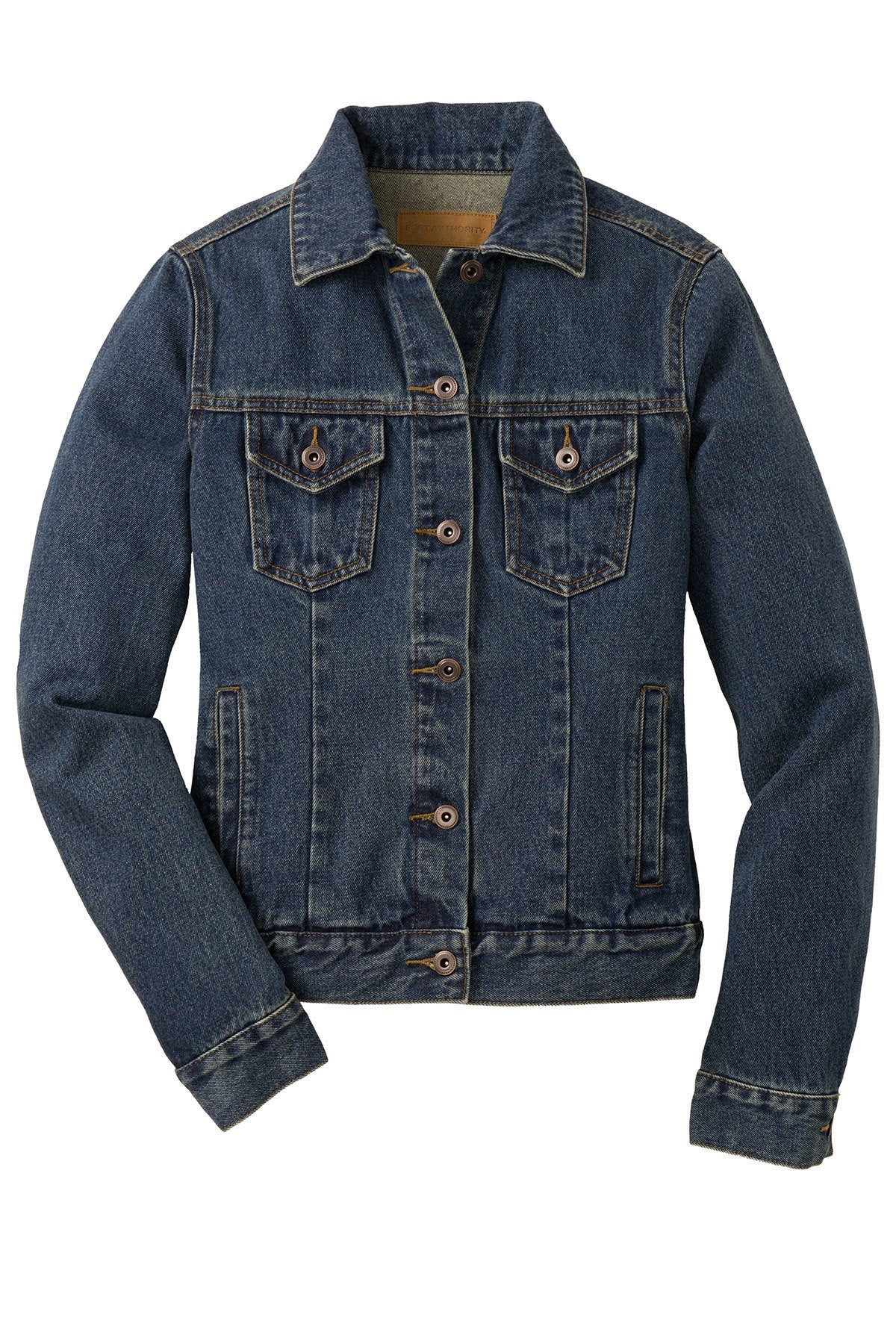 Customizable Embroidered Horse Denim Jacket - Ladies