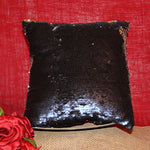 "Load image into Gallery viewer, 14"" Sequin Pillow Cover with Logo or Photograph"