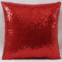 Large Sequin Pillow Cover with Logo or Photograph Cover ONLY