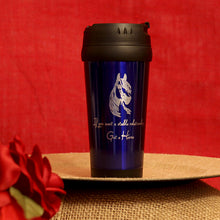 16 oz. Stainless Steel Travel Mug - Stable Relationship