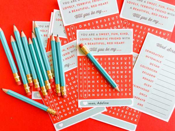 Valentine Word Search & Scramble