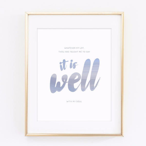 It is well - printable 8x10 print