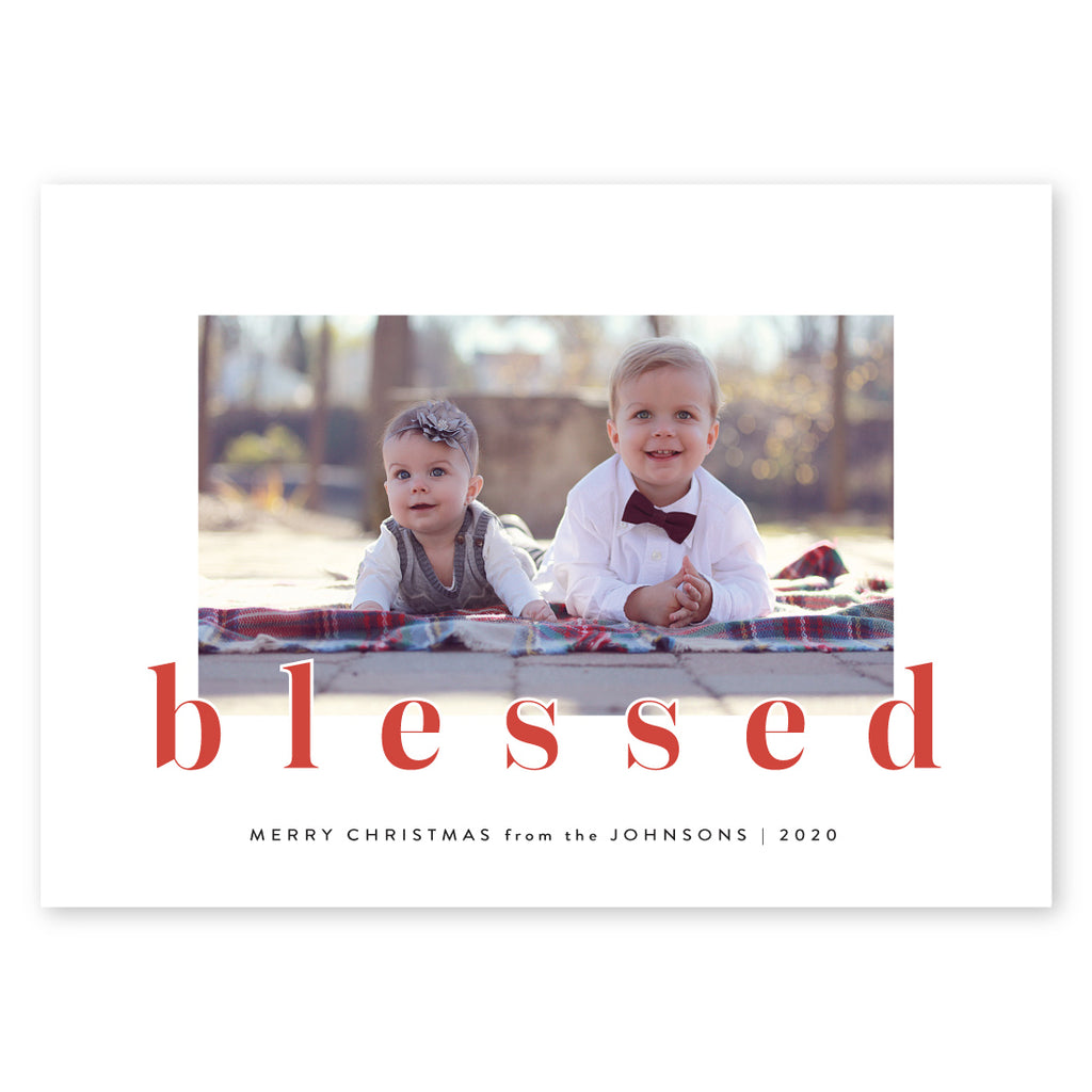 Lettered Blessings