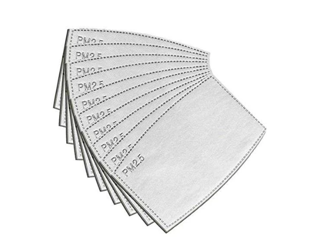 Mask Filters - 10 Pack of Filters