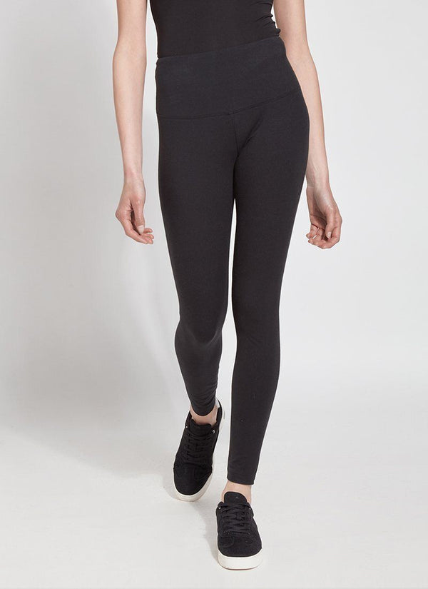 Lysse 10-2280 Flattering Cotton Legging in Black