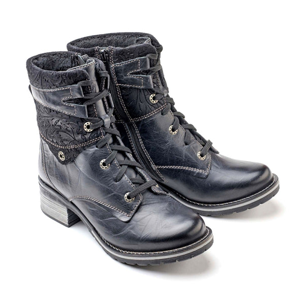 Dromedaris Kara Lace-up Zip Boot