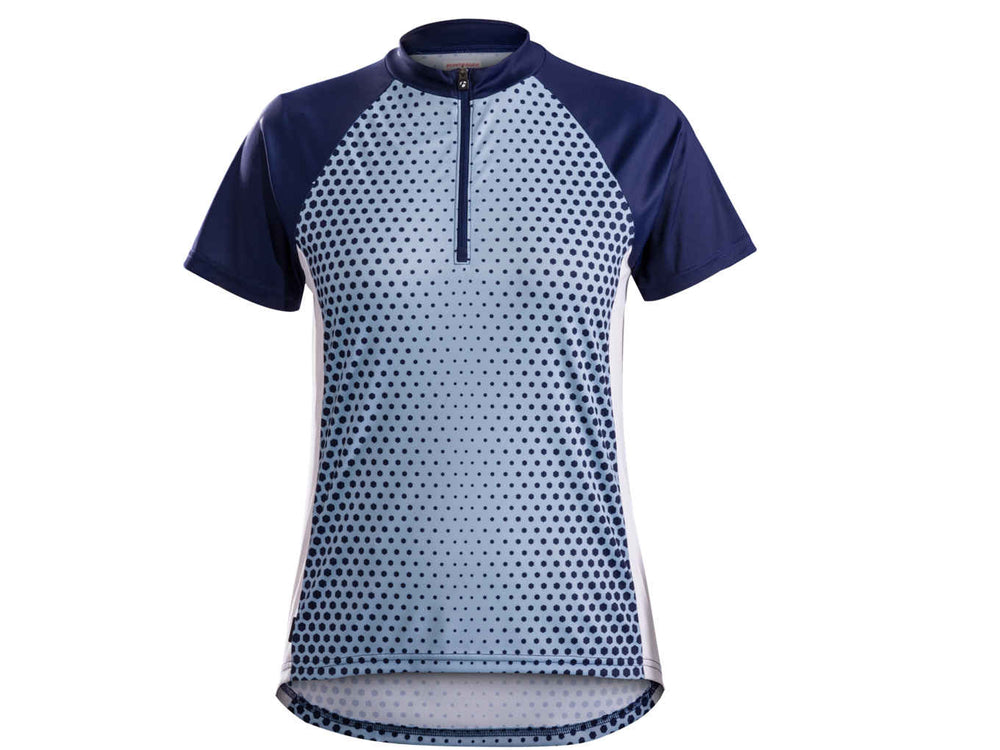 Bontrager, f maillot, Maillot de vélo pour femme Bontrager Solstice - Cycle Robert Boutique Magasin Vélo LaSalle Montréal Fitting bike Trek bicycles