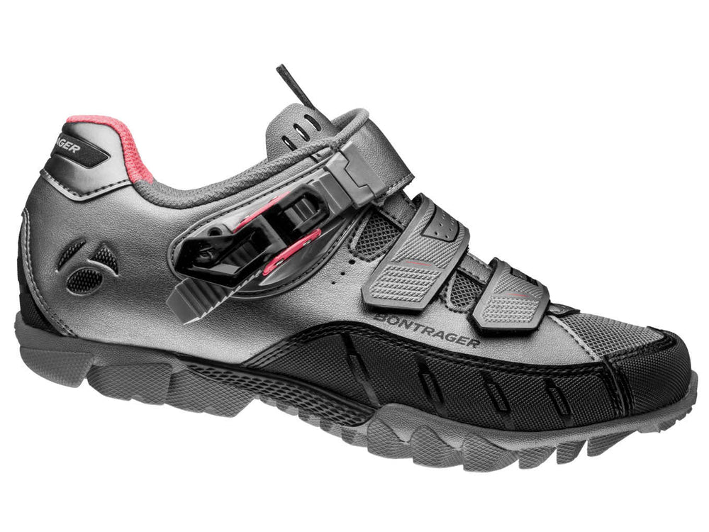 Bontrager, Shoes, Souliers de montagne pour femmes Bontrager Evoke DLX - Cycle Robert Boutique Magasin Vélo LaSalle Montréal Fitting bike Trek bicycles