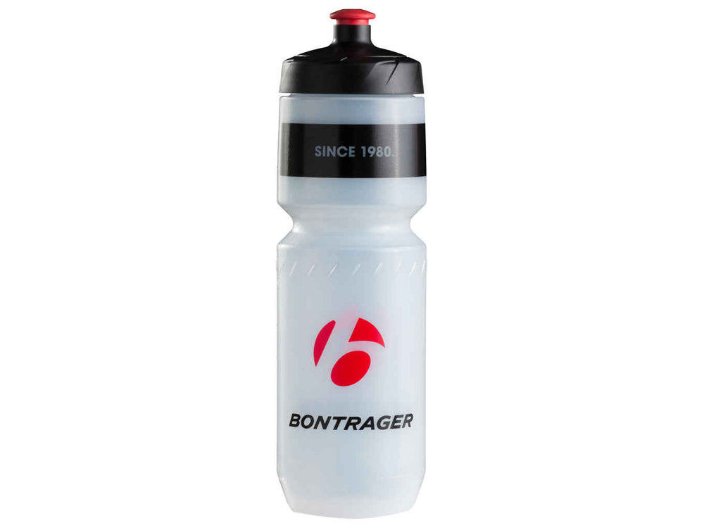 Bontrager, bottle, Trek Water Bottle Bontrager Logo - Cycle Robert Boutique Magasin Vélo LaSalle Montréal Fitting bike Trek bicycles