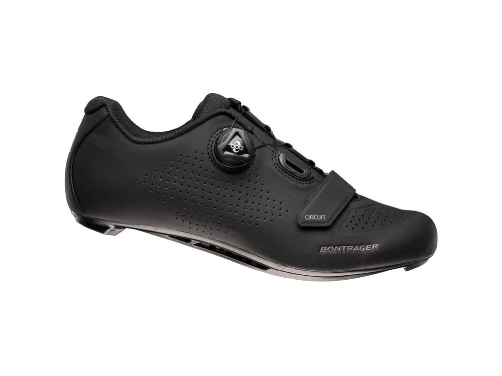 Bontrager, Shoes, Souliers de route Bontrager Circuit - Cycle Robert Boutique Magasin Vélo LaSalle Montréal Fitting bike Trek bicycles