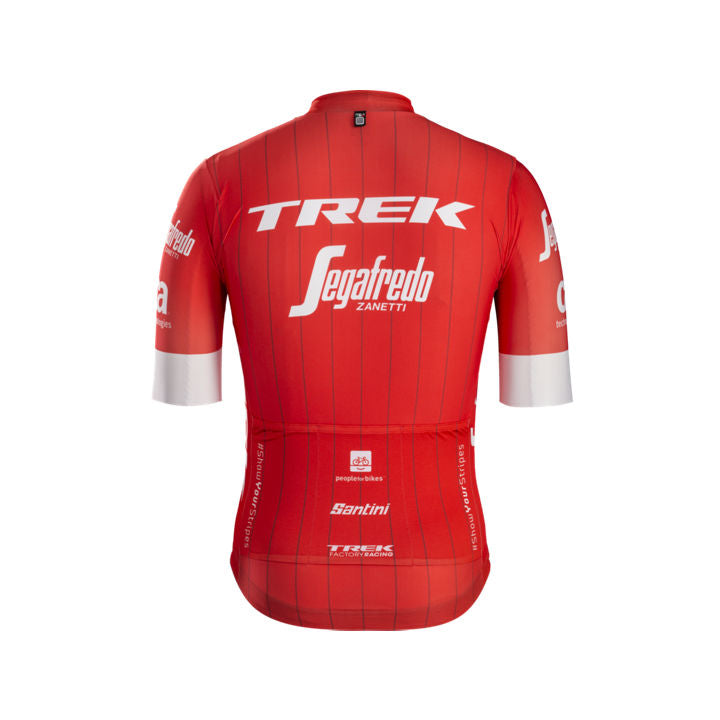 TREK, h maillot, Maillot Santini Trek-Segafredo Team - Cycle Robert Boutique Magasin Vélo LaSalle Montréal Fitting bike Trek bicycles