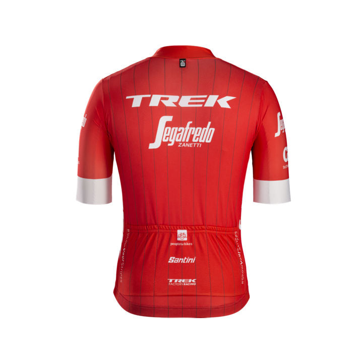 TREK, h maillot, Maillot Santini Trek-Segafredo Replica homme - Cycle Robert Boutique Magasin Vélo LaSalle Montréal Fitting bike Trek bicycles