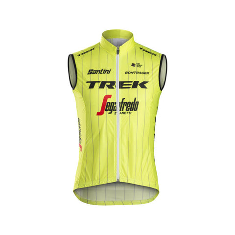 TREK, h maillot, Gilet Santini Trek-Segafredo Team Windshell - Cycle Robert Boutique Magasin Vélo LaSalle Montréal Fitting bike Trek bicycles