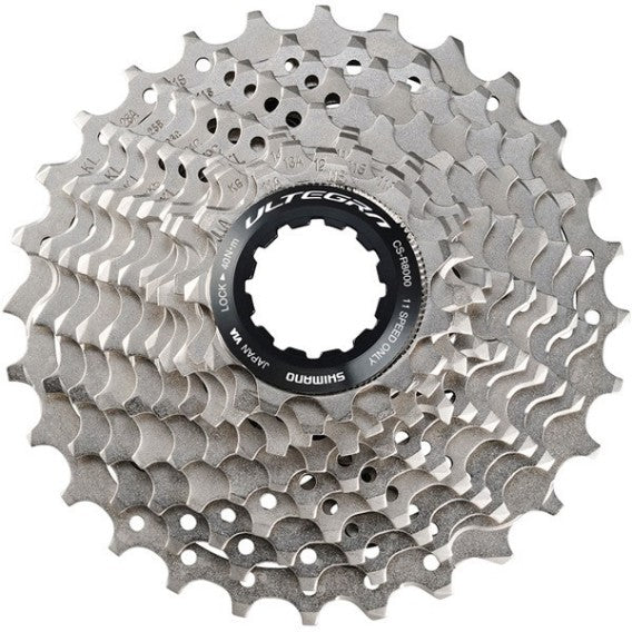 Shimano, cassette, Shimano Cassette Ultegra CS-R8000 - 11 vitesses - Cycle Robert Boutique Magasin Vélo LaSalle Montréal Fitting bike Trek bicycles