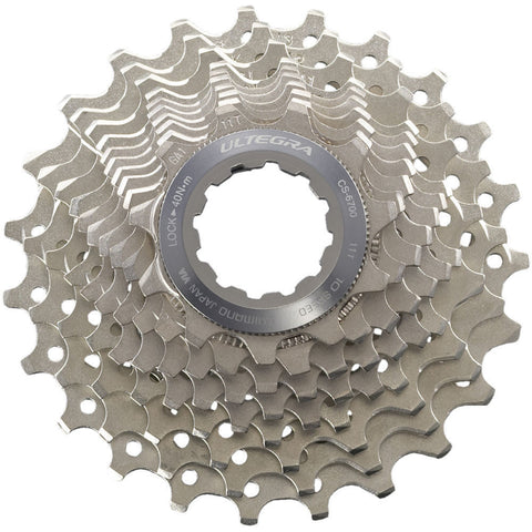 Shimano, cassette, Shimano Cassette Ultegra CS-6700 - 10 vitesses - Cycle Robert Boutique Magasin Vélo LaSalle Montréal Fitting bike Trek bicycles