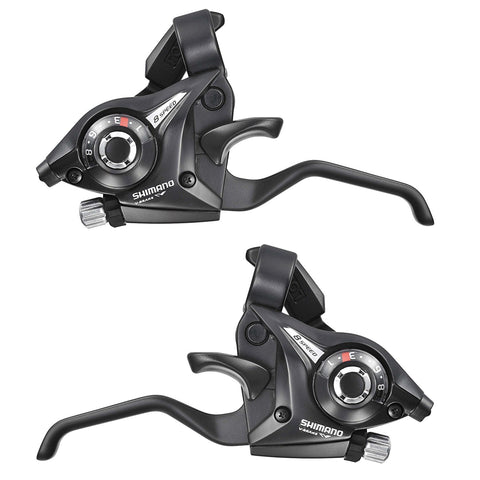 Shimano, shift/brake lever, Shimano Altus ST-EF51-9R (2A) levier de vitesses / frein à 9 vitesses - Cycle Robert Boutique Magasin Vélo LaSalle Montréal Fitting bike Trek bicycles