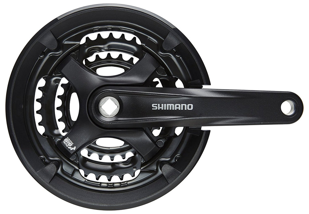 Shimano, crankset, Shimano FC-TY701 Crankset 6/7/8-Vitesse - Cycle Robert Boutique Magasin Vélo LaSalle Montréal Fitting bike Trek bicycles