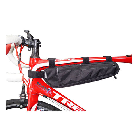 Bontrager, sac, BiKase Long John Frame Bag - Cycle Robert Boutique Magasin Vélo LaSalle Montréal Fitting bike Trek bicycles