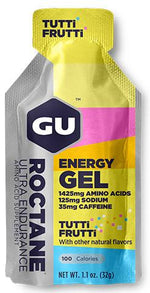 GU Energy, nutrition, GU Roctane Energy Gel - Cycle Robert Boutique Magasin Vélo LaSalle Montréal Fitting bike Trek bicycles