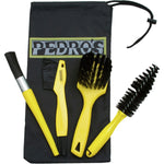 PEDROS, Tool, Pedro's Pro Brush Kit - Cycle Robert Boutique Magasin Vélo LaSalle Montréal Fitting bike Trek bicycles