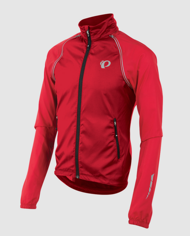 Pearl Izumi, h manteaux, PEARL IZUMI 'Elite' Manteau Barrier Convertible pour Hommes - Cycle Robert Boutique Magasin Vélo LaSalle Montréal Fitting bike Trek bicycles