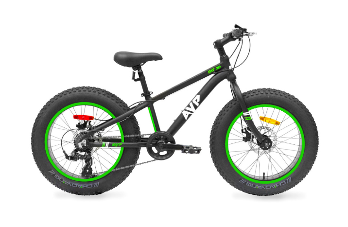 "Action Vélo Plus, e fatbike, AVP FatBike 20"" - Vélo pour Enfants - Cycle Robert Boutique Magasin Vélo LaSalle Montréal Fitting bike Trek bicycles"