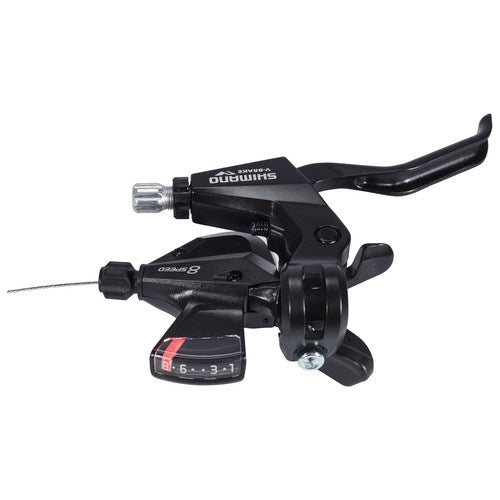 Shimano, brake lever, Shimano ALTUS ST-M310 8V - Cycle Robert Boutique Magasin Vélo LaSalle Montréal Fitting bike Trek bicycles